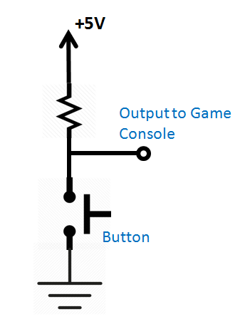 nintendo button circuit