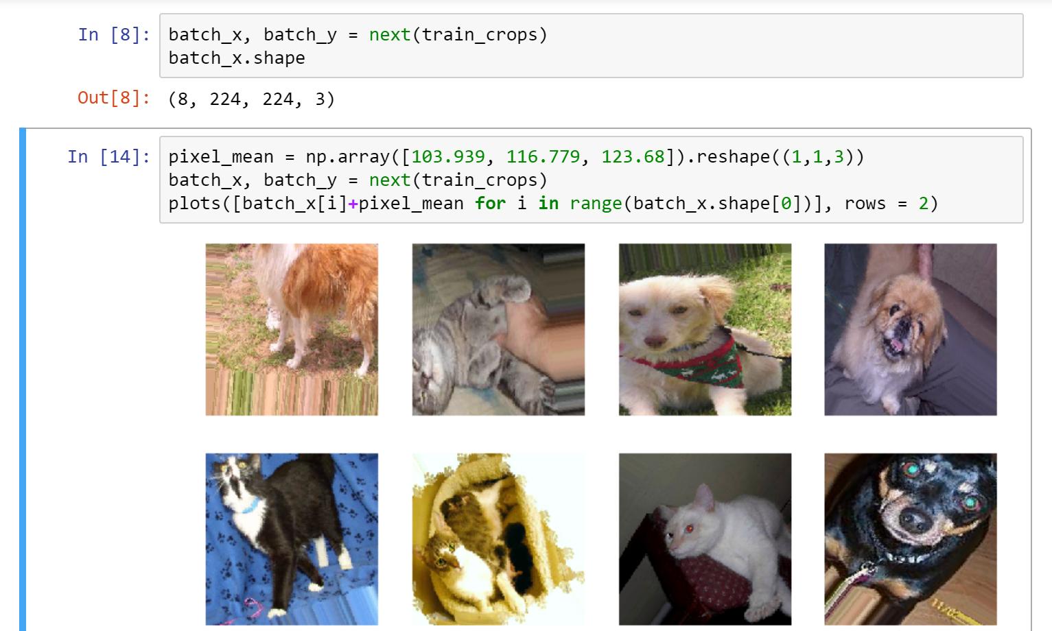 Extending Keras' ImageDataGenerator to Support Random Cropping